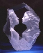 """Lodestone"" Acrylic Sculpture by Michael Wilkinson"