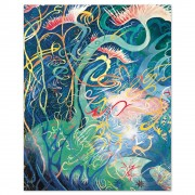 """""""Every Girl Should Have A Unicorn"""" Serigraph on Panel by Dr. Seuss"""