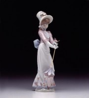 """Garden Song"" Glazed Porcelain Figurine by Llardro"