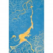 """Golden Girl"" Serigraph on Canvas by Dr. Seuss"