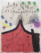 """Joan Miro Lithographs Volume I - Cover""  1972"