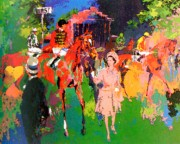 """Queen at Ascot"" Serigraph by LeRoy Neiman"