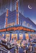 """Radio City Music Hall"" Serigraph by Melanie Taylor Kent"