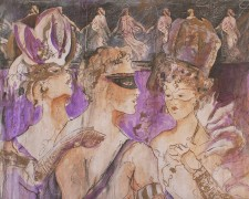 """""""Celebration"""" Open Edition Giclee on Canvas by Marta C Wiley"""