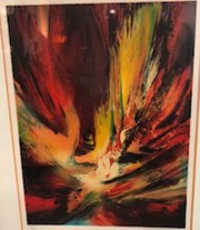 """Untitled"" Limited Edition Color Lithograph by Leonardo Nierman"