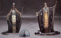 """Hera & Zeus"" Bronze Sculpture by Erte"