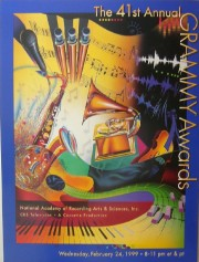 """41st Grammy Awards"" Poster by Rick Garcia"