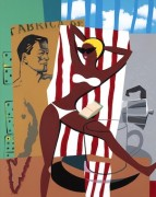 """Playa Girl"" Original Acrylic/Canvas by Rick Garcia"