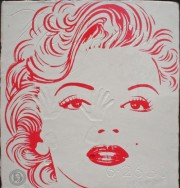"""Tribute to Marilyn Monroe"" by Brett-Livingstone Strong"