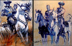 """Swift Justice"" & ""Hi Ho Silver"" Giclees/Paper by Michael Bryan"