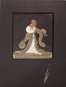 Rigoletto Bas Relief & Signed Book by Erte