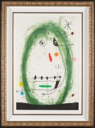 """L'Exile Vert"" etching and aquatint with carborundum by Joan Miro"