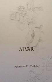 """Four Seasons"" Frontispiece With Original Remarque by Sunol Alvar"