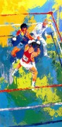 """Olympic Boxing"" Serigraph by LeRoy Neiman"