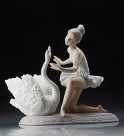 """Graceful Dance"" Glazed Porcelain Figurine by Llardro"