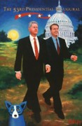 """The 53rd Presidential Inaugural"" Limited Edition Silkscreen by George Rodrigue"