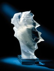 """Futurity"" Acrylic Sculpture by Michael Wilkinson"