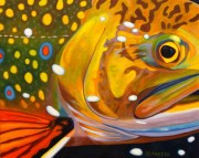"""""""Cool-Eyed Luke"""" Giclee on Canvas by A D Maddox"""