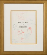 Frontispiece From the Daphnis and Chloe Portfolio