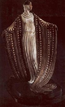 """""""La Mysterieuse"""" Bronze Sculpture by Erte"""