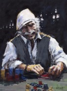 """All In"" Giclee/Canvas by Aldo Luongo"