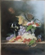 """Still Life"" Original Enamel on Copper by Max Karp"