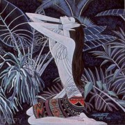"""""""Return to Paradise"""" Serigraph on Paper by Ting Shao Kuang"""