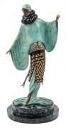 """An Evening In 1921"" Bronze Sculpture by Erte"