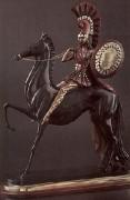 """Amazon"" Bronze Sculpture by Erte"
