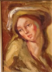 """""""The Woman"""" Original Oil on Canvas by Dulce Beatriz"""