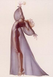 """Sheer Elegance"" Lithograph/Opalesque by Alberto Vargas"