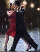 """Streets In Milonga"" Giclee/Canvas by Aldo Luongo"