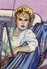 """Sunset Boulevard"" Serigraph by Colleen Ross"