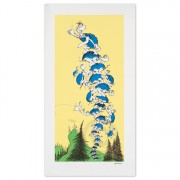 Turtle Tower Lithograph by Dr. Seuss