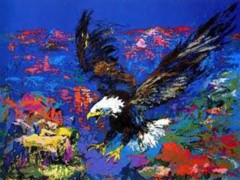 """American Bald Eagle"" Serigraph by LeRoy Neiman"