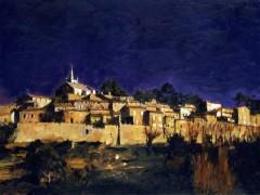 """Italian Village"" Giclee/Canvas by Aldo Luongo"