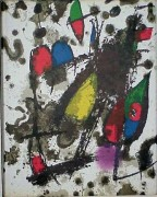 """Joan Miro Lithographs Volume II - Cover"" 1975 Color Lithograph by Joan Miro"