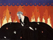 """Memories"" Serigraph on Paper by Erte"