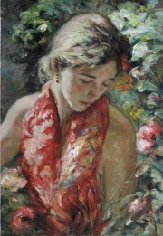 """Primavera"" Original Oil on Canvas by Royo"