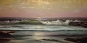 """California Ocean"" Original Oil on Canvas by William DeShazo"