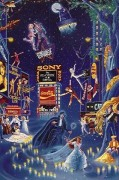 """""""Broadway"""" Remarqued Serigraph by Melanie Taylor Kent"""