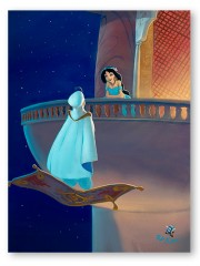 """""""Falling For Aladdin"""" Hand Embellished Giclee on Canvas by Rob Kaz"""