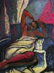 """Amorous Lady"" Original Oil on Canvas by William Tolliver"