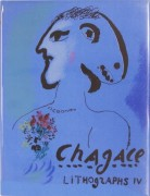 "Cover For ""Chagall Lithographs"" Volume IV"