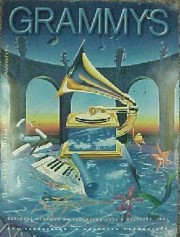 """40th Grammy Awards"" Poster by Rick Garcia"