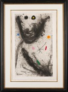 """Le Puisatier"" 1969 Etching with Aquatint and Carborundum by Joan Miro"