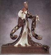 """Rigoletto"" AP Bronze Sculpture by Erte"