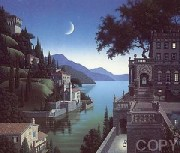 """""""Princess Kept The View"""" Serigraph by Jim Buckles"""