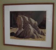 """Cabo San Lucas"" Cibachrome by Cole Weston"