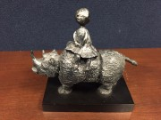 """The Journey"" Cast Resin Sculpture by Graciela Rodo Boulanger"